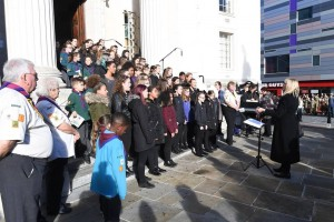 Luton Youth Cantores Luton Remembrance Day Service 11 November 2018