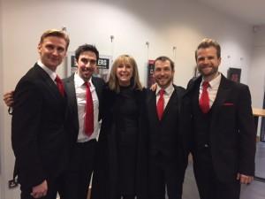 The Opera Boys with Kerry Watson
