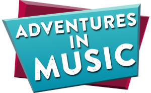 Adventures in music logo